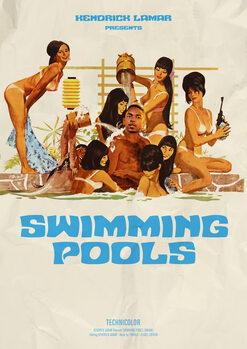 Vászonkép swimming pools