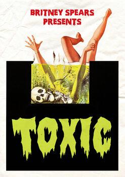 Vászonkép toxic
