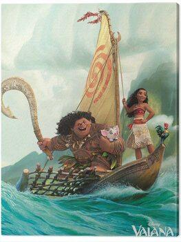Vászonkép Vaiana - Boat