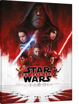 Vászonkép A Csillagok háborúja VIII: Az utolsó Jedik - Many Porgs
