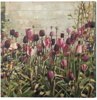 Vászonkép  Anne-Marie Butlin - Tulip Garden