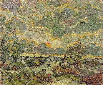 Vászonkép Autumn landscape, 1890
