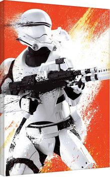 Vászonkép  Csillagok háborúja VII (Star Wars: Az ébredő Erő) - Flametrooper Tri