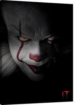 Vászonkép IT - Pennywise Closeup