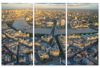 Vászonkép Jason Hawkes - London Evening