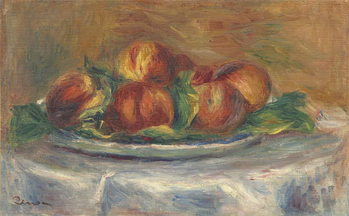 Vászonkép Peaches on a Plate, 1902-5
