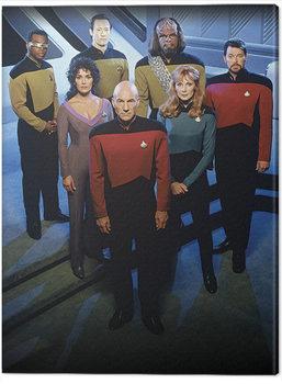 Vászonkép Star Trek: The Next Generation - Enterprise Officers