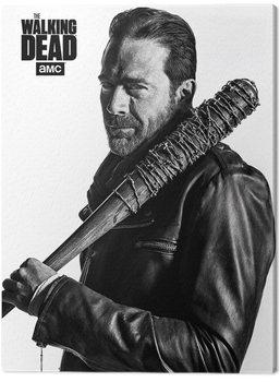 Vászonkép The Walking Dead - Negan