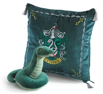 Vzglavnik Harry Potter - Slytherin