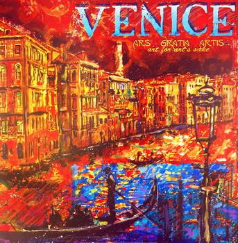 Venice Festmény reprodukció