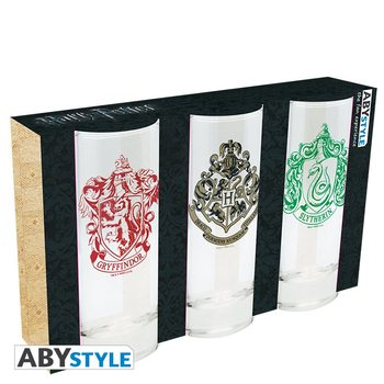 Harry Potter - Crests Verre