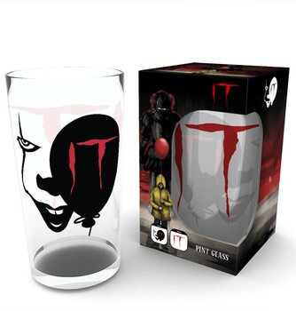 IT - Pennywise Face Verre
