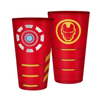 Verre Marvel - Iron Man
