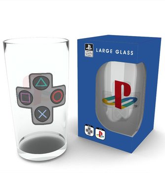 Playstation - Buttons Verre