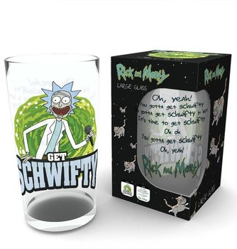 Rick and Morty - Get Schwifty Verre