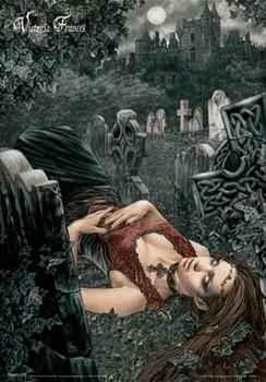 VICTORIA FRANCES - echo of death - плакат (poster)