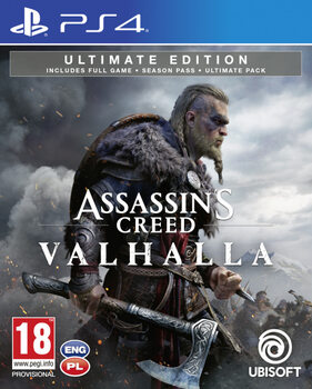 Videogame Assassin's Creed Valhalla Ultimate Edition (PS4)