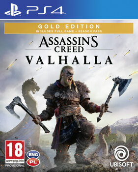 Videojáték Assassin's Creed Valhalla Gold Edition (PS4)