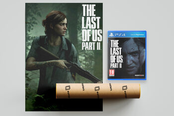 Videospiel The Last of Us Part II (PS4) + kostenloses Poster