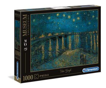 Puzzel Vincent Van Gogh - Starry Night