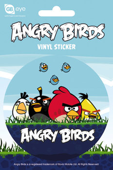 Angry Birds - Group Vinilne nalepka