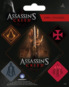 Assassin's Creed Vinilne nalepka