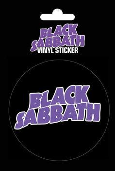 Black Sabbath - Logo Vinilne nalepka