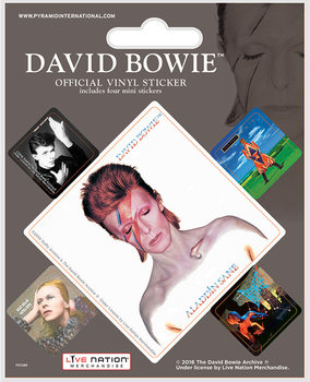 David Bowie - Album Covers Vinilne nalepka