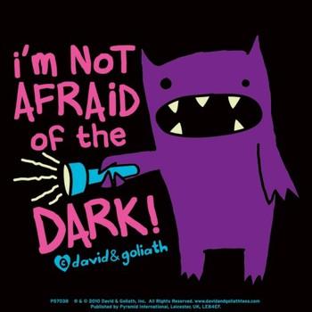 MONSTER MASH - im not afraid of dark Vinilne nalepka