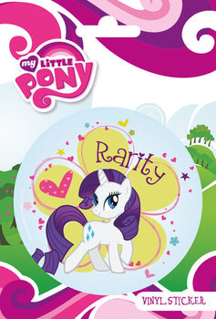 MY LITTLE PONY - rarity  Vinilne nalepka