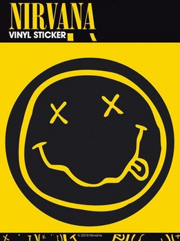 NIRVANA SMILEY Vinilne nalepka