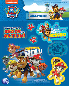 Paw Patrol - On a Roll Vinilne nalepka