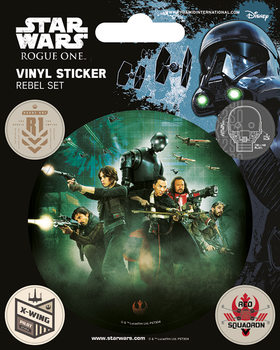 Rogue One: Star Wars Story - Rebel Vinilne nalepka