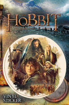 The Hobbit: The Desolation of Smaug - Collage Vinilne nalepka
