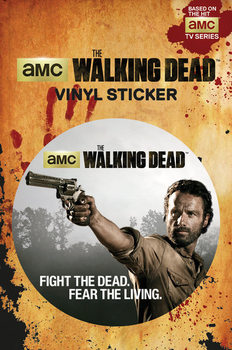 The Walking Dead - Rick Vinilne nalepka