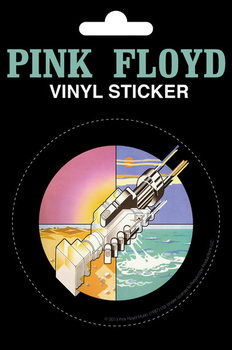 Pink Floyd - Wish You Were Here Vinilna naljepnica
