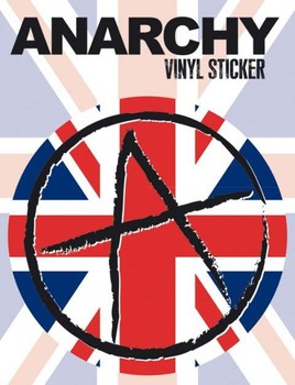 ANARCHY Vinylklistermärken
