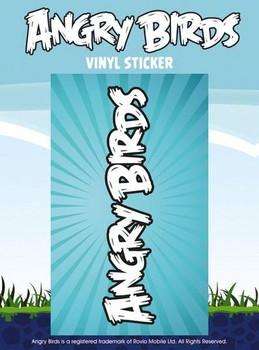 ANGRY BIRDS – logo Vinylklistermärken