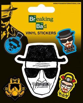 Breaking Bad - Heisenberg Vinylklistermärken