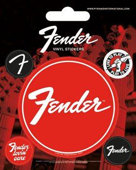 Fender Vinylklistermärken