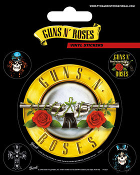 Guns N' Roses - Bullet Logo Vinylklistermärken