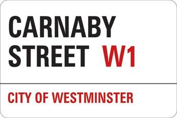 LONDON - carnaby street Vinylklistermärken