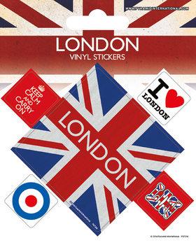 London Vinylklistermärken