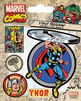 Marvel Comics - Thor Retro Vinylklistermärken