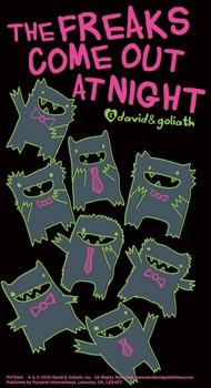 MONSTER MASH - freaks come out at night Vinylklistermärken