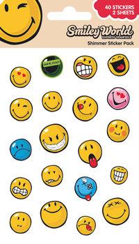 Smiley - Expressions (Shimmer) Vinylklistermärken