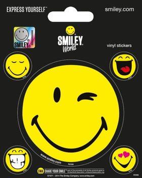 Smiley - Smileyworld Vinylklistermärken