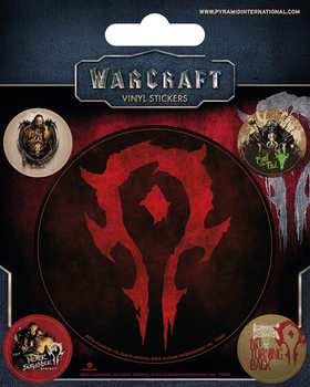 Warcraft: The Beginning - The Horde Vinylklistermärken