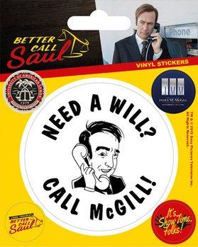 Better Call Saul Vinyl klistermærker