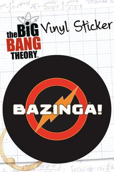 BIG BANG THEORY – bazinga Vinyl klistermærker